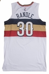 2018-19 Julius Randle Game Used New Orleans Pelicans Earned Edition Jersey Photo Matched To 12/29/2018 (MeiGray & Resolution Photomatching)