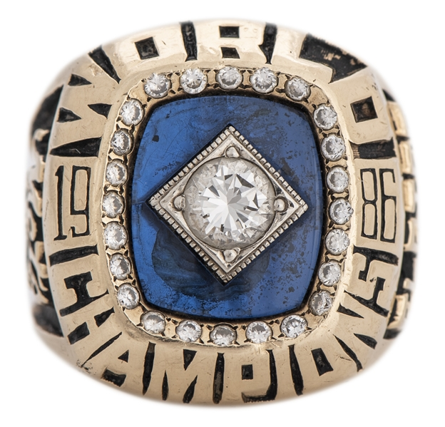 Kevin Elster's 1986 New York Mets World Series Championship Ring (Elster LOA)