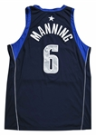 2001-02 Danny Manning Game Used Dallas Mavericks Jersey (MeiGray)