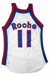 Johnny Roche Game Used Kentucky Colonials ABA Jersey