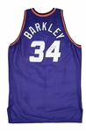 1993-94 Charles Barkley Phoenix Suns Game Used & Signed Road Jersey (Team LOA)