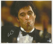 Al Pacino Signed Scarface 16x20 Canvas (Beckett)