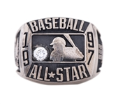 1997 Major League Baseball American League All Star Game Ring Presented to Willie Randolph (Randolph LOA)