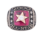 2000 Major League Baseball American League All Star Game Ring Presented to Willie Randolph (Randolph LOA)