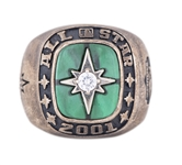 2001 Major League Baseball American League All Star Game Ring Presented to Willie Randolph (Randolph LOA)