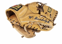 Willie Randolph Game Used, Signed & Multi-Inscribed Mizuno MWV-400 Model Glove (Randolph LOA)