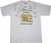2000 St. Vincent St. Marys State Championship Basketball Team Signed T-Shirt by 13 Members Including LeBron James (Beckett)