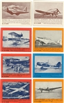 "1940-41 R177 Gum Products ""Zoom Airplanes"" Near Set (174/175)"