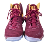 2018 Kevin Love Cleveland Cavaliers Game Worn Nike Sneakers (MEARS)(Ball boy LOA)