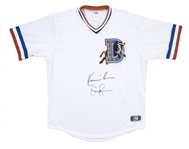 "Kevin Costner & Susan Sarandon Dual Signed ""Bull Durham"" Jersey (Authentic Signings)"
