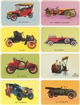 "1953 UO5 Signal Oil ""Antique Auto Cards"" Complete Set (63) - Plus ""Sample"" Card"