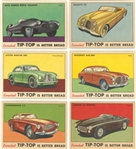 "1954 D94-5 Tip-Top ""Sports Cars"" Near Set (26/28)"