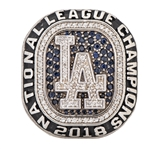 2018 Los Angeles Dodgers National League Championship Ring (PSA/DNA)