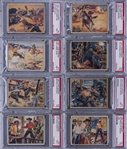 "1940 R83 Gum, Inc. ""Lone Ranger"" Complete Set (48) - #7 on PSA Set Registry!"