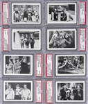 "1985 FTCC ""The Three Stooges"" PSA GEM MT 10 Complete Set (66) - #1 on the PSA Set Registry!"