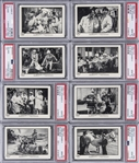 "1989 FTCC ""The Three Stooges II"" Complete Set (120) - #2 on the PSA Set Registry!"