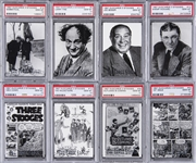 "1997 Duocards ""Three Stooges"" Complete Set (85) - #2 on the PSA Set Registry!"