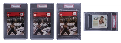 1975-2009 Bruce Lee Player Near Set (18/19) - #1 on the PSA Set Registry!