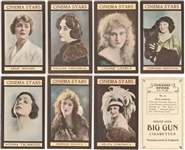 "1924 W. Sandorides & Co. Ltd. ""Cinema Stars"" Complete Set (25)"