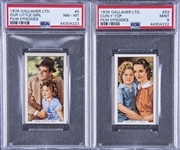 "1936 Gallaher Ltd. ""Film Episodes"" Complete Set (48) - Featuring Shirley Temple"