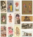 1910s-1920s Non-Sports Tobacco Cards Complete Sets Collection (15 Different)