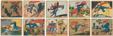 "1940 R145 Gum, Inc. ""Superman"" Complete Set (72)"