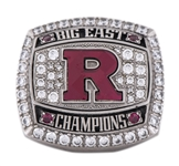 2012 Rutgers Scarlet Knights Big East Football Championship Ring (Player LOA)