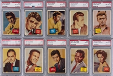 "1957 Topps ""Hit Stars"" Complete Set (88) - #3 on the PSA Set Registry!"