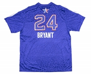 2014 Kobe Bryant Game Issued, Signed & Inscribed NBA All-Star Game Western Conference Warm Up Shirt (NBA/MeiGray & Panini)