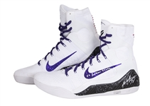 2014-15 Kobe Bryant Game Used & Signed Pair of Nike Kobe IX Elite Sneakers Photo Matched To 11/16/2014 (MeiGray & Panini)