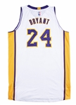 2014-15 Kobe Bryant Photo Matched Game Used White Los Angeles Lakers Jersey Worn November 9, 16 & 23 2014 Including 44 Point Game (Resolution Photomatching)