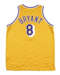 1998-99 Kobe Bryant Game Used Los Angeles Lakers Home Jersey (Sports Investors Authentication)