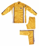 2000 Kobe Bryant NBA Finals Game Used Los Angeles Lakers Warm Up Suit (Fox LOA)