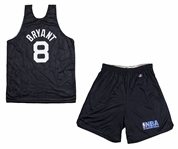 1997-98 Kobe Bryant All-Star Game Used Warm Up Jersey With Shorts (Sports Investors Authentication)- His 1st Ever All Star Jersey