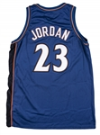 2002-03 Michael Jordan Game Used Washington Wizards Road Jersey (Sports Investors Authentication)