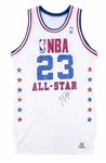 1988 Michael Jordan Game Issued & Signed All-Star Jersey (Sports Investors Authentication & Beckett)