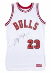 1984-85 Michael Jordan Game Issued & Signed Chicago Bulls Rookie Jersey (UDA & Sports Investors Authentication)