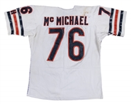 1986 Steve McMichael Game Used Chicago Bears Jersey Photo Matched to Super Bowl XX on January 26, 1986 (McMichael LOA, Resolution Photomatching & Beckett)