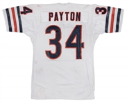 1975-80 Walter Payton Game Used and Photo Matched Chicago Bears Road Jersey - Earliest Known Photo Matched Payton Jersey! - Matched To 11/23/80 (MEARS A10 & Sports Investors Authentication)