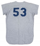 1966 Don Drysdale Game Used Los Angeles Dodgers Road Jersey (SGC EX/VG)