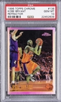 1996-97 Topps Chrome Refractors #138 Kobe Bryant Rookie Card – PSA GEM MT 10