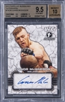 2013 Topps UFC Bloodlines Autographs #FACM Conor McGregor Signed Rookie Card - BGS GEM MINT 9.5/BGS 10