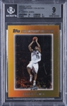 "2003-04 Topps ""Contemporary Collection"" (Gold) #1 LeBron James Rookie Card (#11/25) – BGS MINT 9"