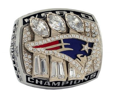 New England Patriots Super Bowl XXXIX Championship Ring (2004 Season)