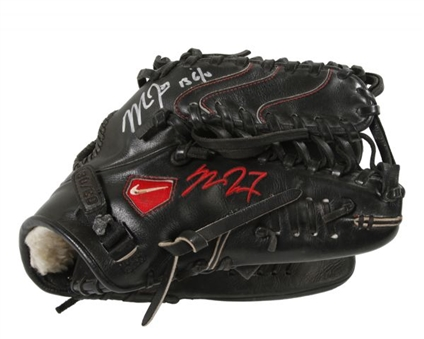 2013 Mike Trout Game Used and Signed Nike Diamond Elite Pro Fielders Glove (Trout LOA)(PSA/DNA)