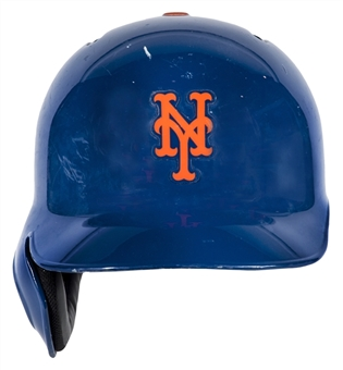 2013 Zack Wheeler Game Used New York Mets Rookie Batting Helmet (MLB Authenticated)