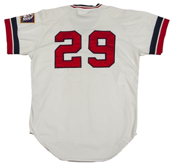 1976 Rod Carew Game Used and Signed Minnesota Twins Home Jersey (MEARS A-10 & PSA/DNA)