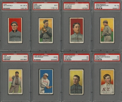 1909-11 T206 White Border PSA-Graded Collection (30 Different) Including Hall of Famers