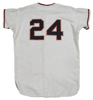1968 Willie Mays Game Used & Signed San Francisco Giants Home Jersey (MEARS A9.5 & Beckett)