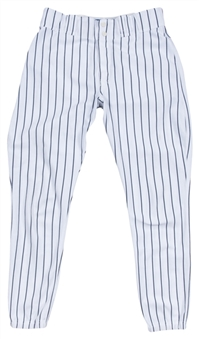 1995 Andy Pettitte Game Used New York Yankees Rookie Season Home Pants (Letter of Provenance)
